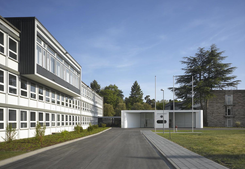 Temporärer Sitz des Bundesverfassungsgerichts Karlsruhe